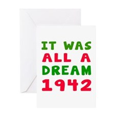 It Was All A Dream 1942 Greeting Card