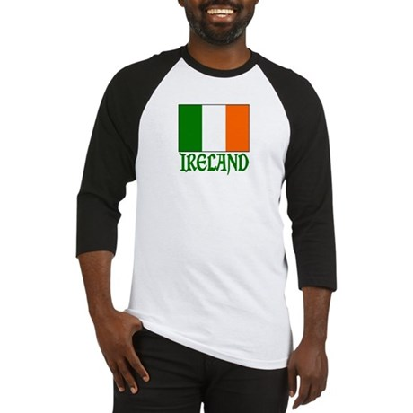 "Irish Flag & Ireland ""Vinque"" Baseball Jersey"