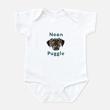 Neon Puggle Infant Bodysuit