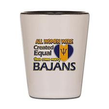 Bajans husband designs Shot Glass