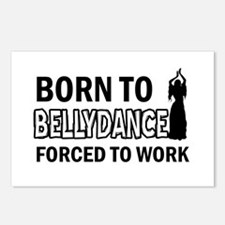 born to bellydance designs Postcards (Package of 8
