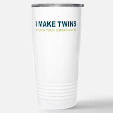 I MAKE TWINS Whats Your superpower? Travel Mug