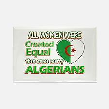 Algerians husband designs Rectangle Magnet