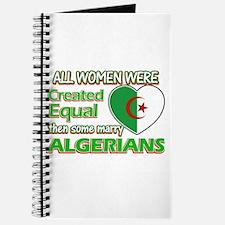 Algerians husband designs Journal
