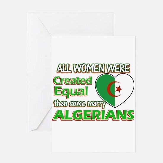 Algerians husband designs Greeting Card