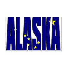 Alaska Flag Rectangle Car Magnet
