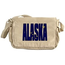 Alaska Flag Messenger Bag