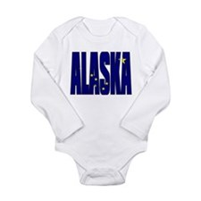 Alaska Flag Body Suit