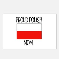 Proud Polish Mom Postcards (Package of 8)