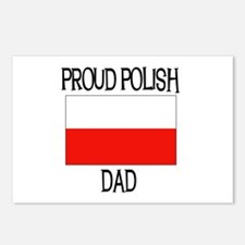 Proud Polish Dad Postcards (Package of 8)