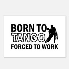 born to tango designs Postcards (Package of 8)