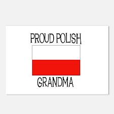 Proud Polish Grandma Postcards (Package of 8)