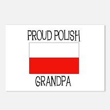 Proud Polish Grandpa Postcards (Package of 8)
