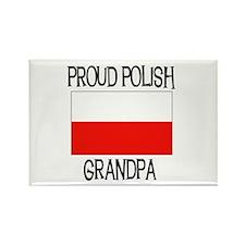 Proud Polish Grandpa Rectangle Magnet
