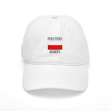 Proud Polish Grandpa Baseball Cap