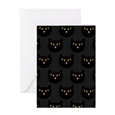 'Black Cats' Greeting Card