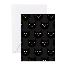 'Black Cats' Greeting Cards (Pk of 10)