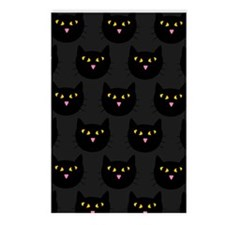 'Black Cats' Postcards (Package of 8)
