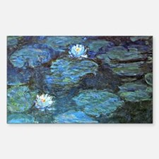 Claude Monet's Water Lilies -  Decal