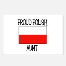 Proud Polish Aunt Postcards (Package of 8)