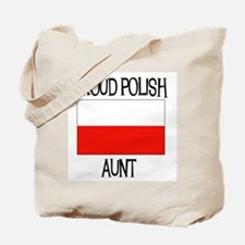 Proud Polish Aunt Tote Bag