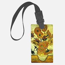 Van Gogh's Sunflowers (Fourteen) Luggage Tag