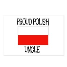 Proud Polish Uncle Postcards (Package of 8)