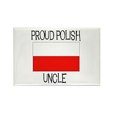 Proud Polish Uncle Rectangle Magnet