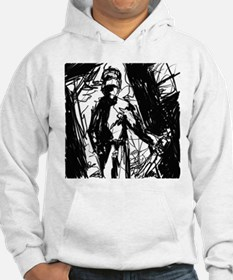 room with a knife guy Hoodie