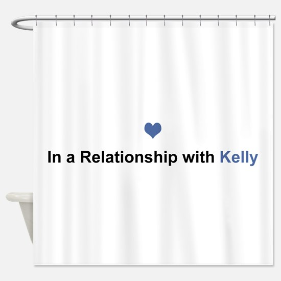 Kelly Relationship Shower Curtain