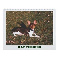 RAT TERRIER Wall Calendar