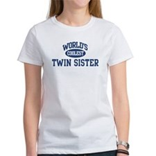 Coolest Twin Sister Tee