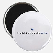 Marisa Relationship Round Magnet