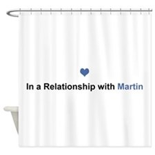 Martin Relationship Shower Curtain