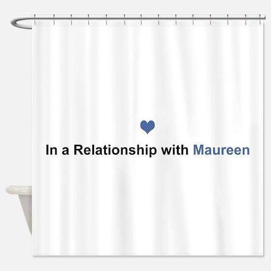 Maureen Relationship Shower Curtain