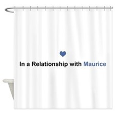 Maurice Relationship Shower Curtain