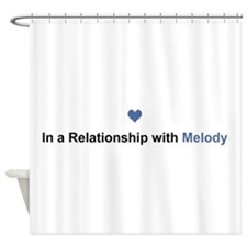 Melody Relationship Shower Curtain
