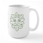 Weathered GreenMan Large Mug