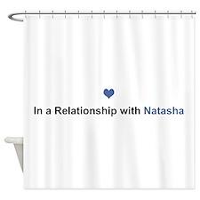 Natasha Relationship Shower Curtain