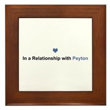 Peyton Relationship Framed Tile
