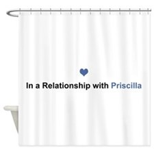 Priscilla Relationship Shower Curtain
