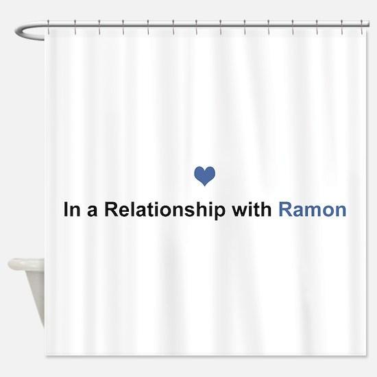 Ramon Relationship Shower Curtain