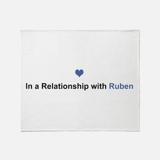 Ruben Relationship Throw Blanket