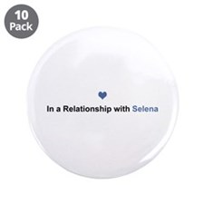 Selena Relationship Big Button 10 Pack