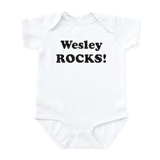 Wesley Rocks! Infant Bodysuit