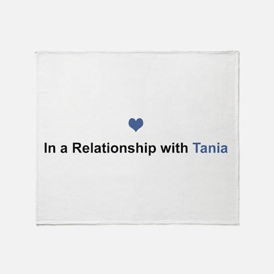 Tania Relationship Throw Blanket