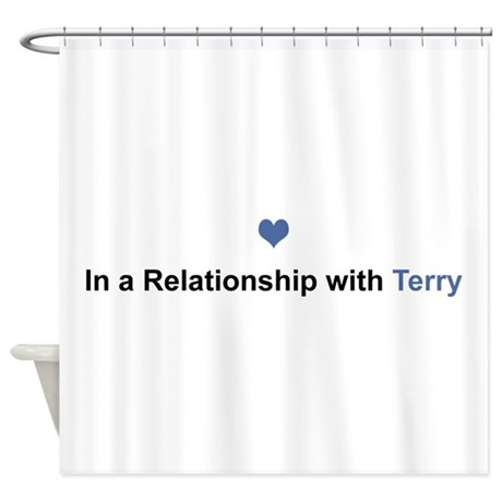 Terry Relationship Shower Curtain By Namestuff Relationship Kz
