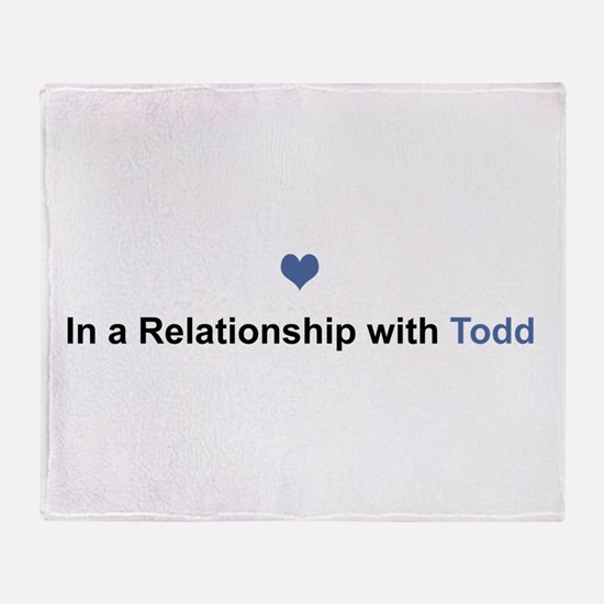 Todd Relationship Throw Blanket