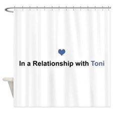 Toni Relationship Shower Curtain