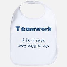 Teamwork - Blue Bib